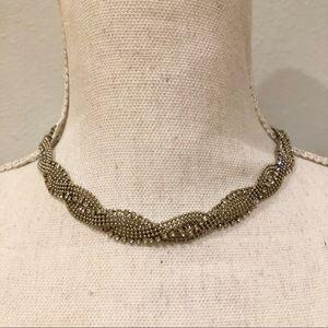 Alfani Rhinestone Choker Necklace